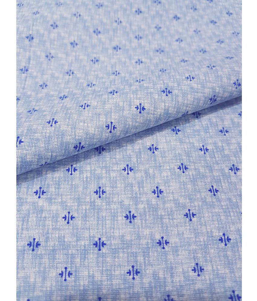 93b0c13c6c7 Raymond Blue Cotton Blend Unstitched Shirt pc - Buy Raymond Blue Cotton  Blend Unstitched Shirt pc Online at Low Price in India - Snapdeal