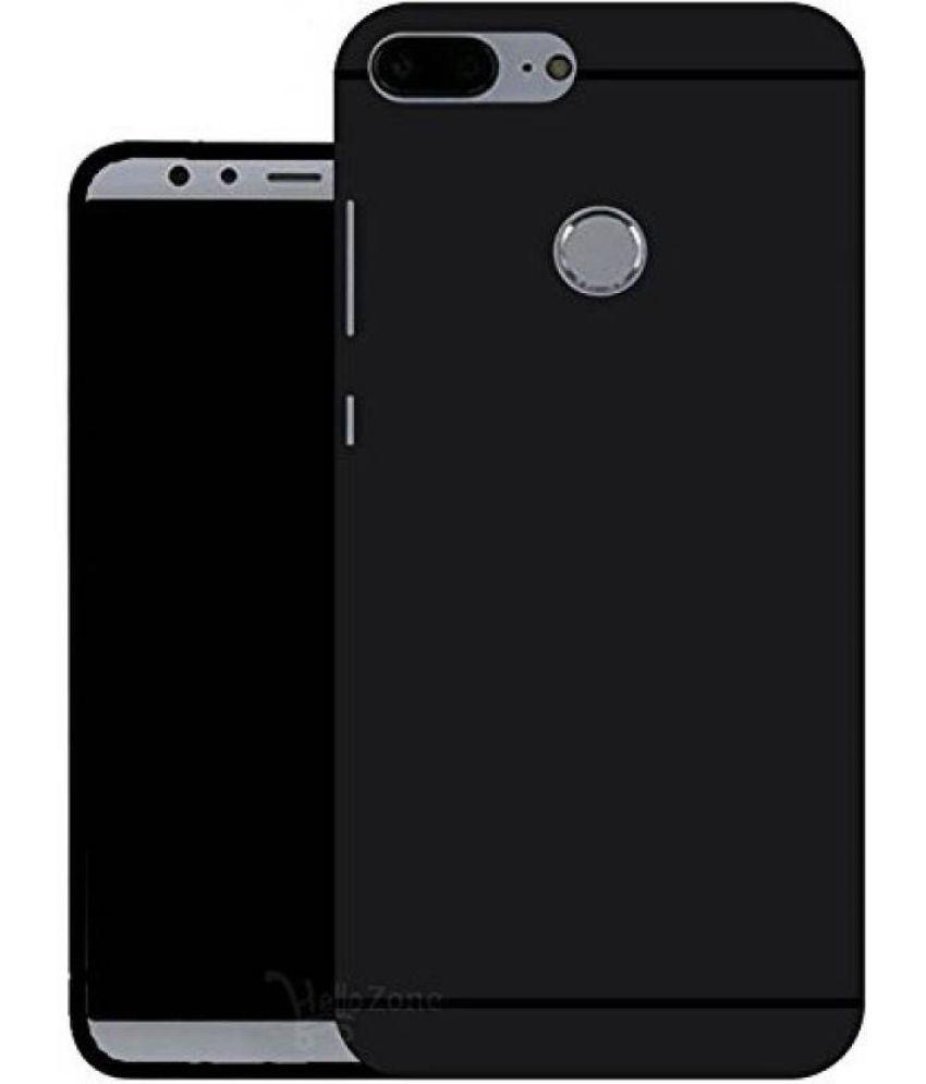 Huawei Honor 9 Lite Plain Cases MAXX3D - Black SHOCK PROOF