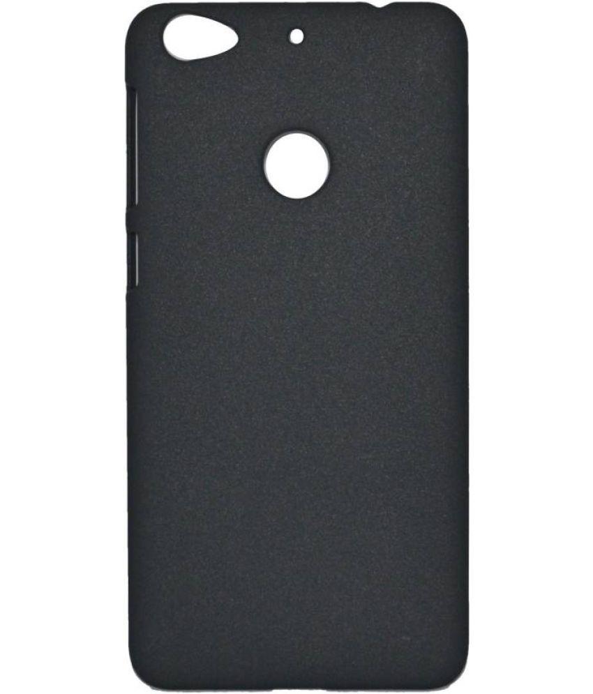Letv Le 1S Plain Cases MAXX3D - Black SHOCK PROOF