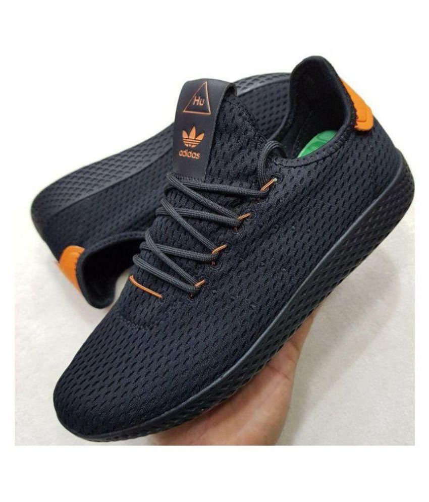 detailed pictures d4810 0e007 Adidas PHARRELL WILLIAMS TENNIS HU Black Training Shoes