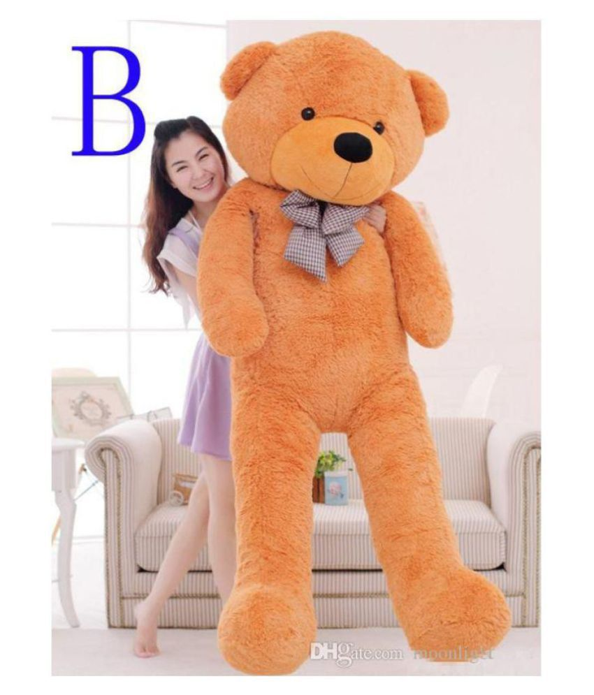 56b2c0ef4ab AVS 3 Feet Stuffed spongy Huggable cute Teddy Bear With Neck Bow (91 Cm,Brown)  - Buy AVS 3 Feet Stuffed spongy Huggable cute Teddy Bear With Neck Bow (91  Cm ...