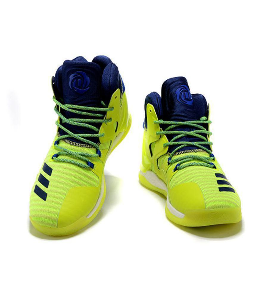 meet abc96 24085 ... Adidas D ROSE 7 PRIMEKNIT Green Basketball Shoes ...