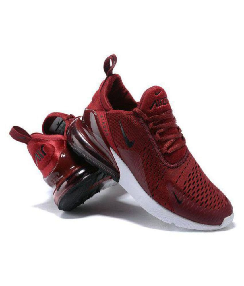 Nike AIR MAX 27 C Red Running Shoes - Buy Nike AIR MAX 27 C Red ... 4e5945b20e