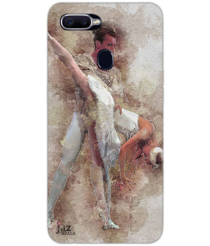Oppo F9 Printed Cover By Jaz Deals Belle Couple Print Hard Cover