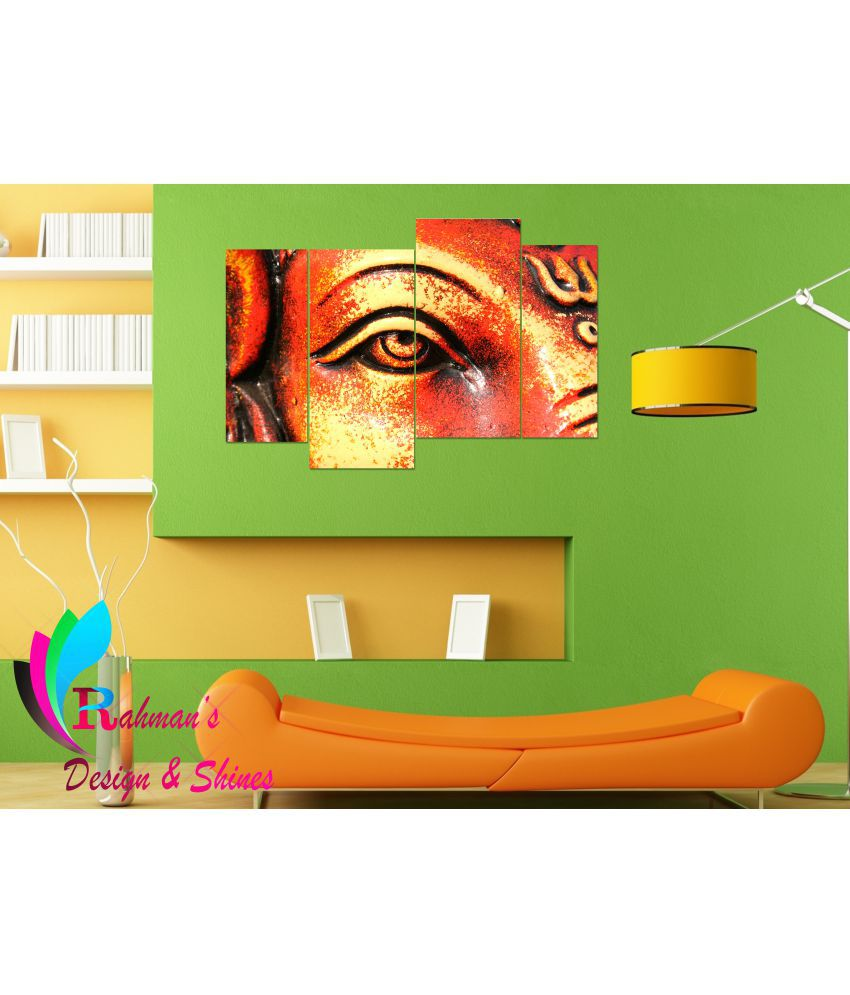 Rahman's Design & Shines Matte Finishing look MDF Painting With Frame