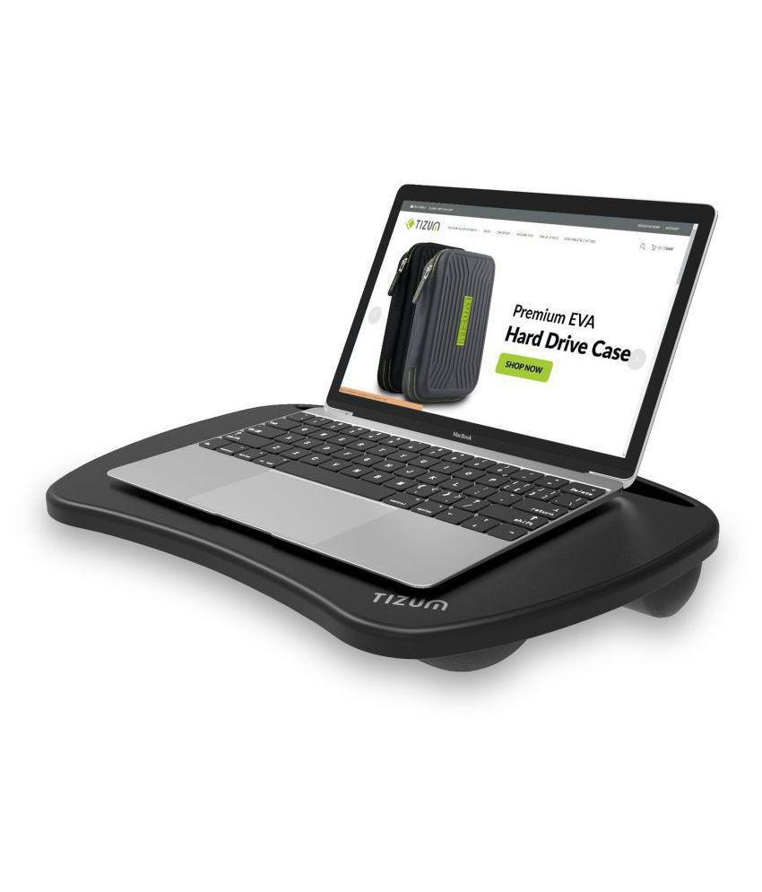 TIZUM Laptop Table For Upto 38.1 cm (15) Black