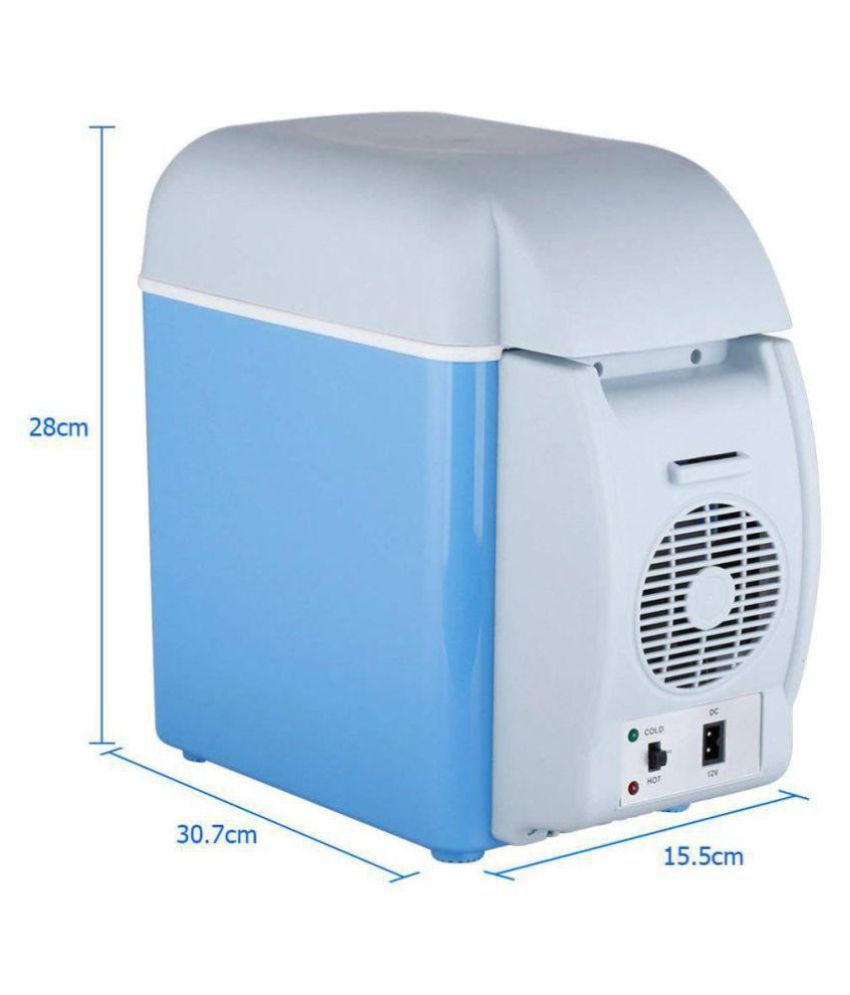 Wemake Refrigerator & Warmer 12V 7 5L Car Refrigerator Cooler Warmer Fridge  7