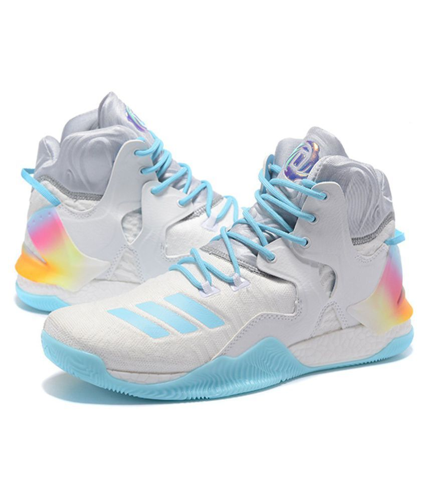 3c70c5cd7397 Adidas D ROSE 7 PRIMEKNIT White Basketball Shoes - Buy Adidas D ROSE ...