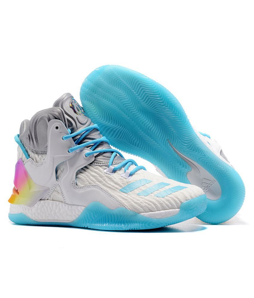 promo code 9784f a0178 Adidas D ROSE 7 PRIMEKNIT White Basketball Shoes - Buy Adidas D ROSE 7  PRIMEKNIT White Basketball Shoes Online at Best Prices in India on Snapdeal