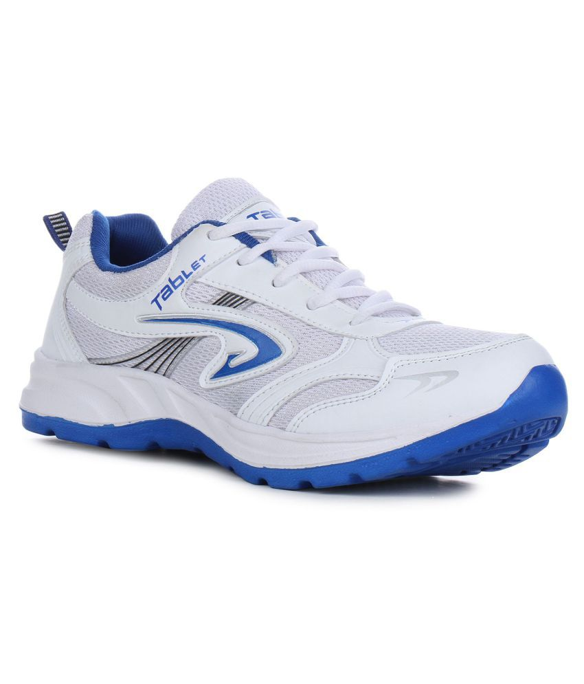 Columbus TB-4 White Training Shoes