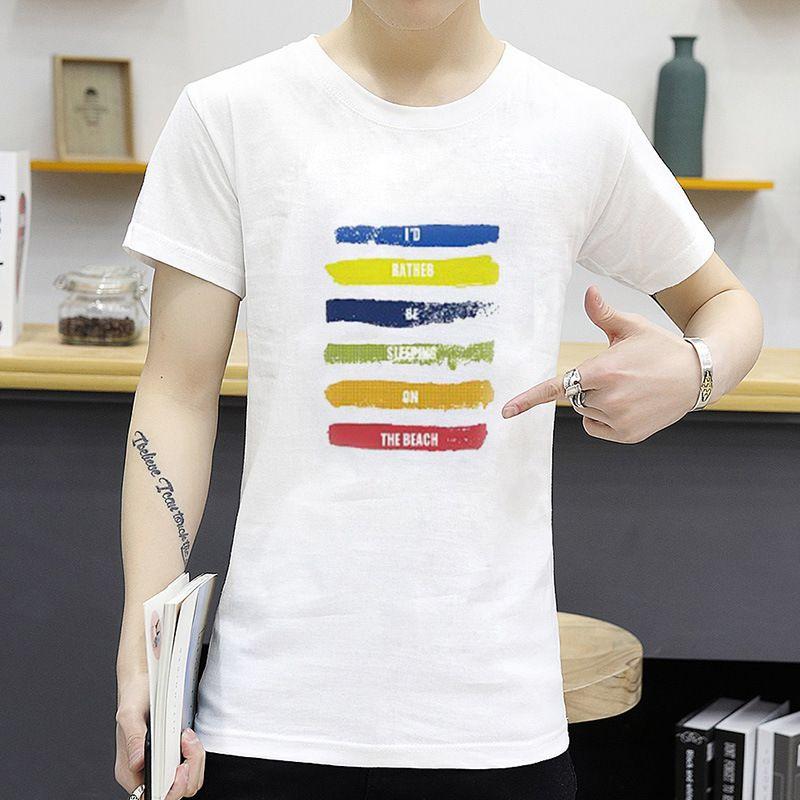 MagicShow White Cotton T-Shirt Single Pack