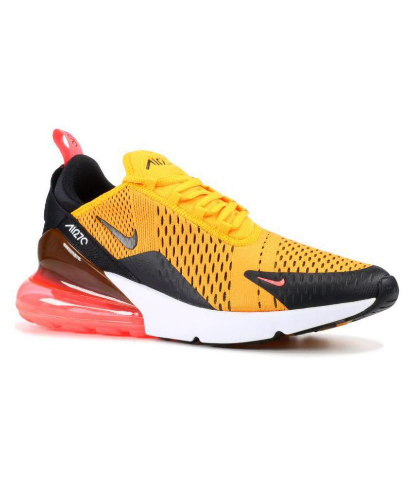 bc3233f6dac6 Nike AIR MAX 270 TIGER Yellow Running Shoes - Buy Nike AIR MAX 270 TIGER  Yellow Running Shoes Online at Best Prices in India on Snapdeal