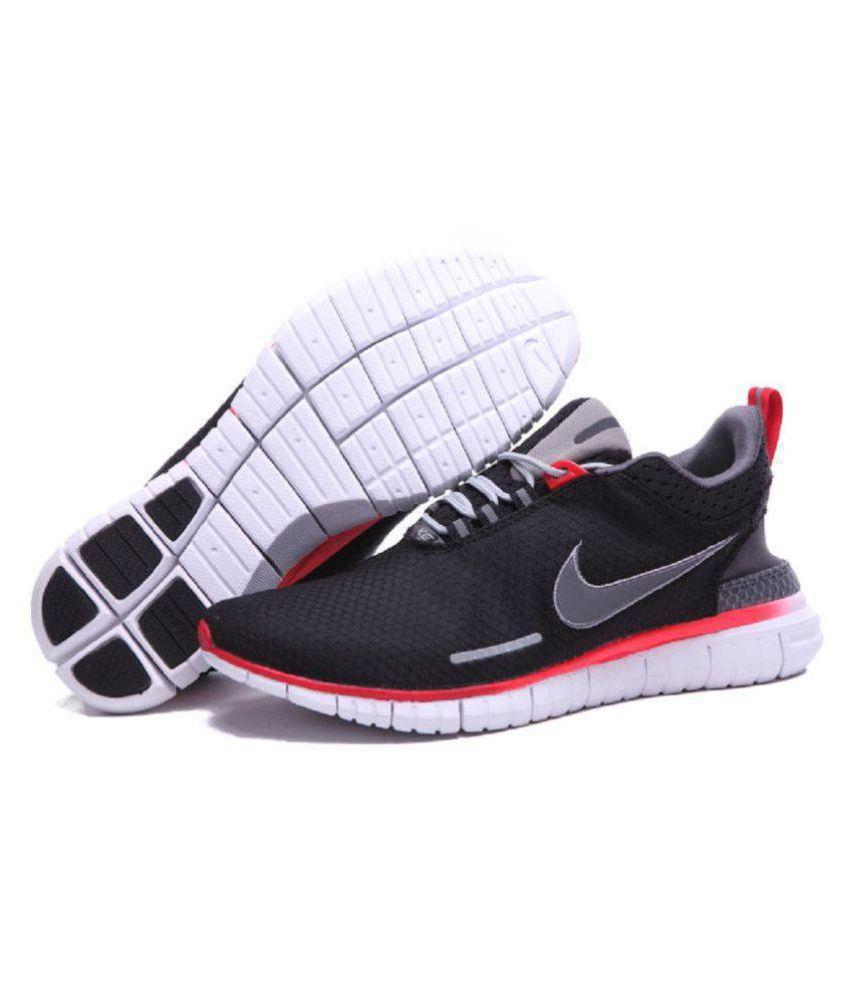 d0248dc8ef4c Nike Free OG Breeze Black Running Shoes - Buy Nike Free OG Breeze ...