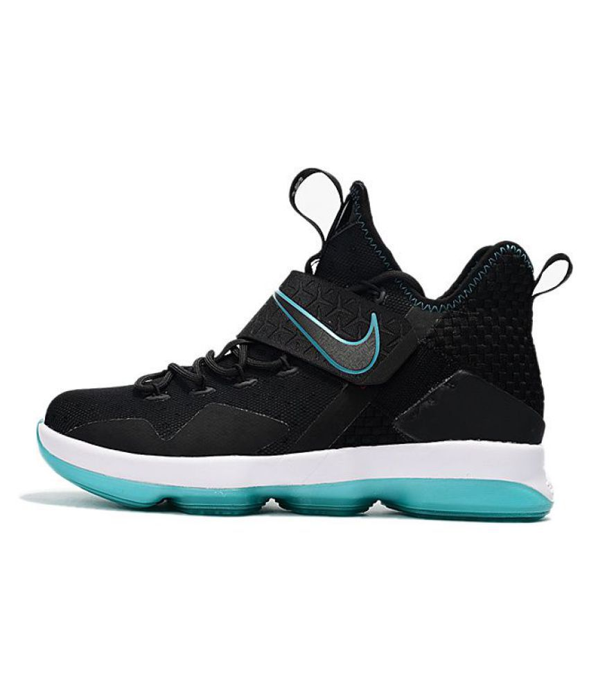 6df3f9084a8 Nike LeBron 14 PRM Black Running Shoes - Buy Nike LeBron 14 PRM Black  Running Shoes Online at Best Prices in India on Snapdeal