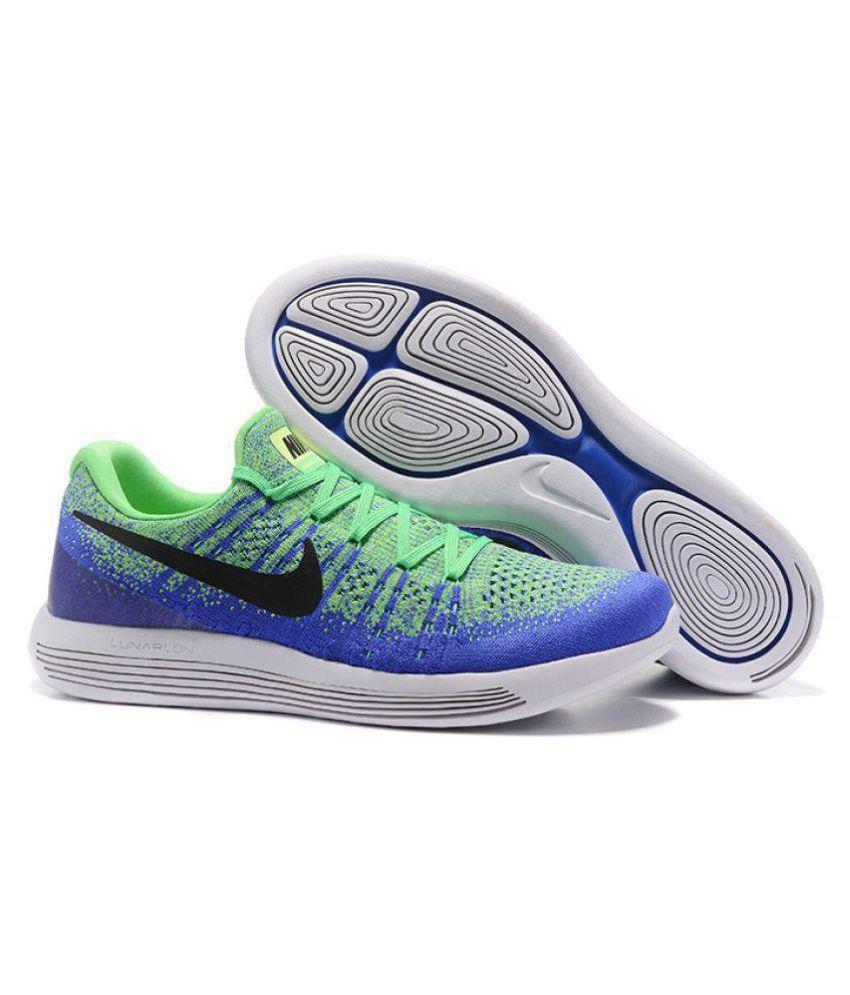 ba0841bb1dda0 Nike Lunar Flyknit 3 Green Running Shoes - Buy Nike Lunar Flyknit 3 ...