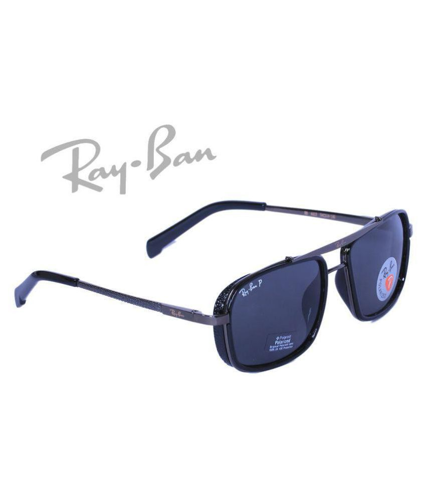 Ray Ban Avaitor Blue Square Sunglasses ( Rb 4413 )