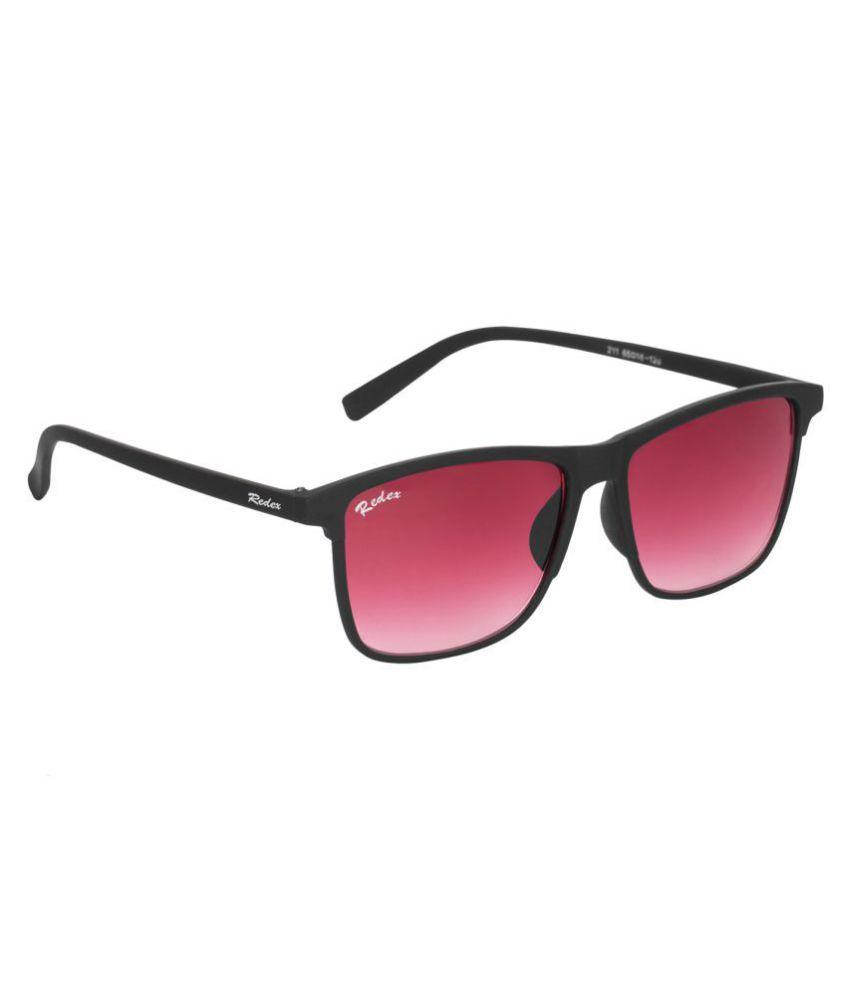 70b2924d26 Redex Red Wayfarer Sunglasses ( 1383 ) - Buy Redex Red Wayfarer Sunglasses  ( 1383 ) Online at Low Price - Snapdeal