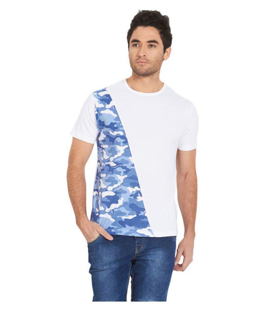 Deezeno Blue Half Sleeve T-Shirt