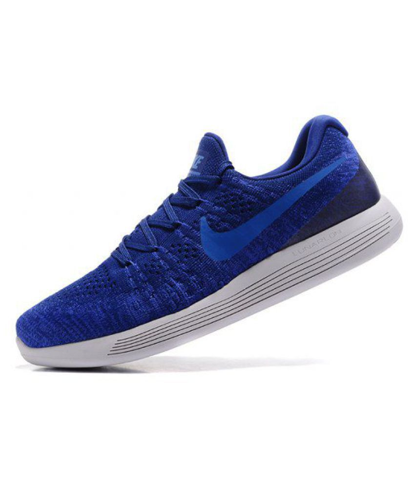 size 40 8c21d 0da86 Nike LunarEpic Low Flyknit 2 Blue Running Shoes - Buy Nike ...