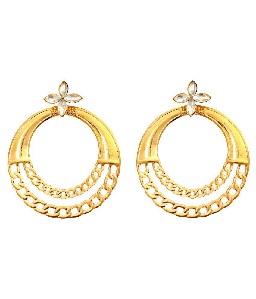 AccessHer designer Hoop earrings for women