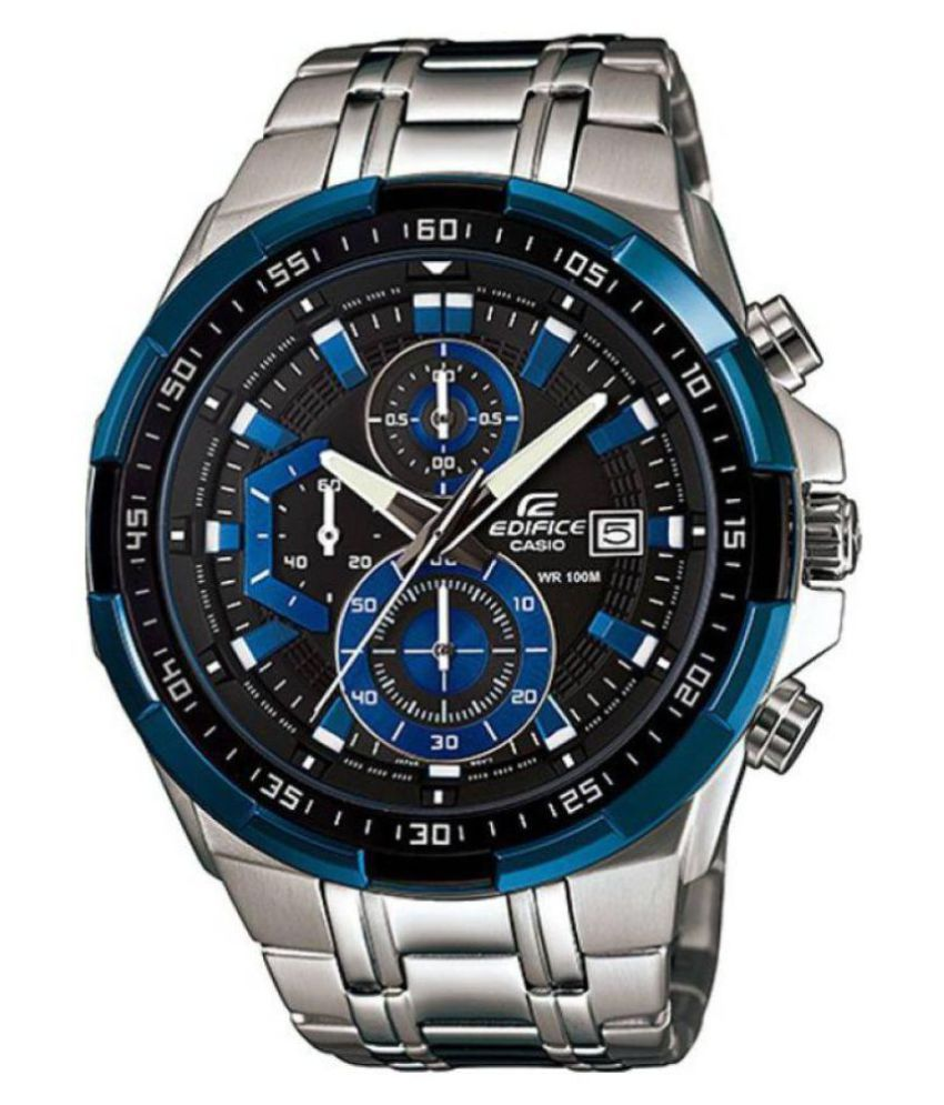 Casio Edifice (E.13) EFR-539D-1 Metal Chronograph Men s Watch - Buy Casio  Edifice (E.13) EFR-539D-1 Metal Chronograph Men s Watch Online at Best  Prices in ... 9117f56150d1