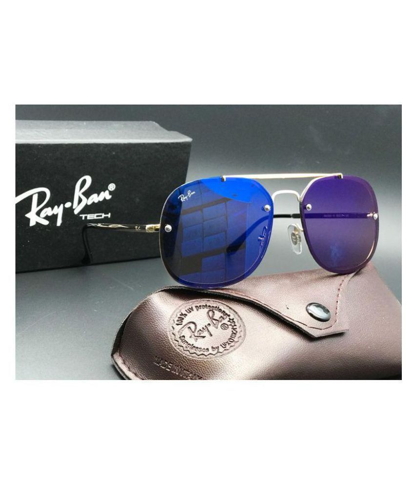 66f6ab19b2 Ray Ban Sunglasses Black Square Sunglasses ( RB3583 ) - Buy Ray Ban  Sunglasses Black Square Sunglasses ( RB3583 ) Online at Low Price - Snapdeal