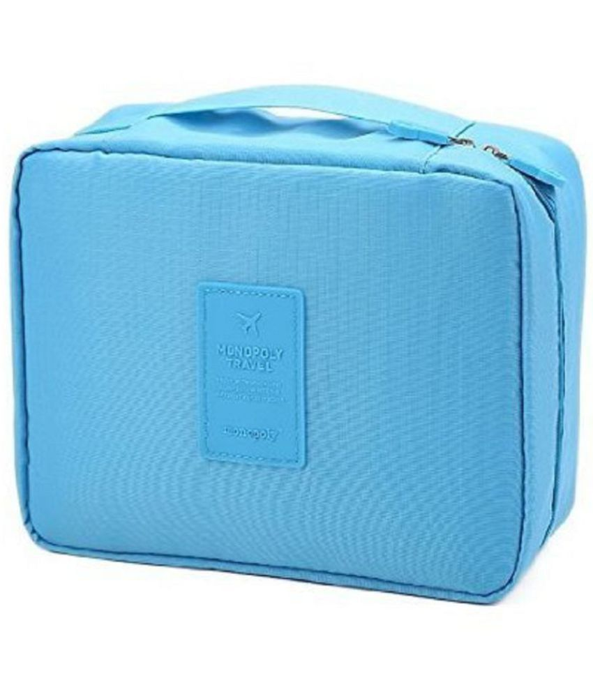 Everbuy Blue Multi Pouch Cosmetic Makeup Toiletry Bag Buy