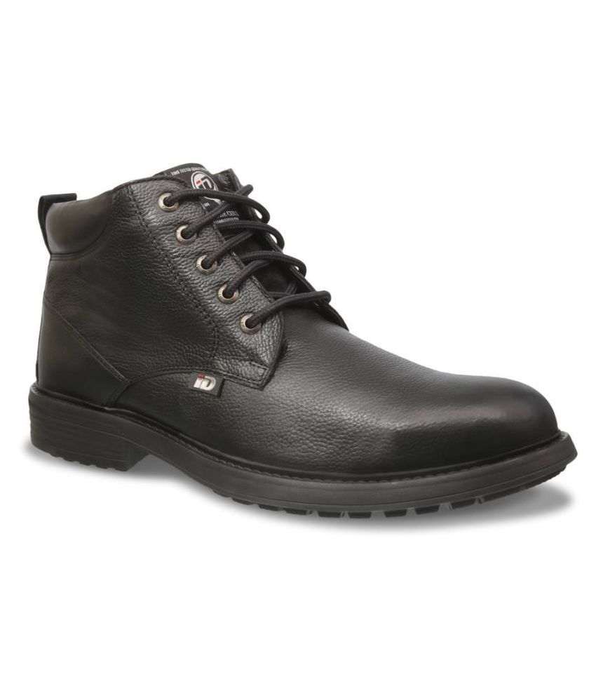 ID Black Casual Boot