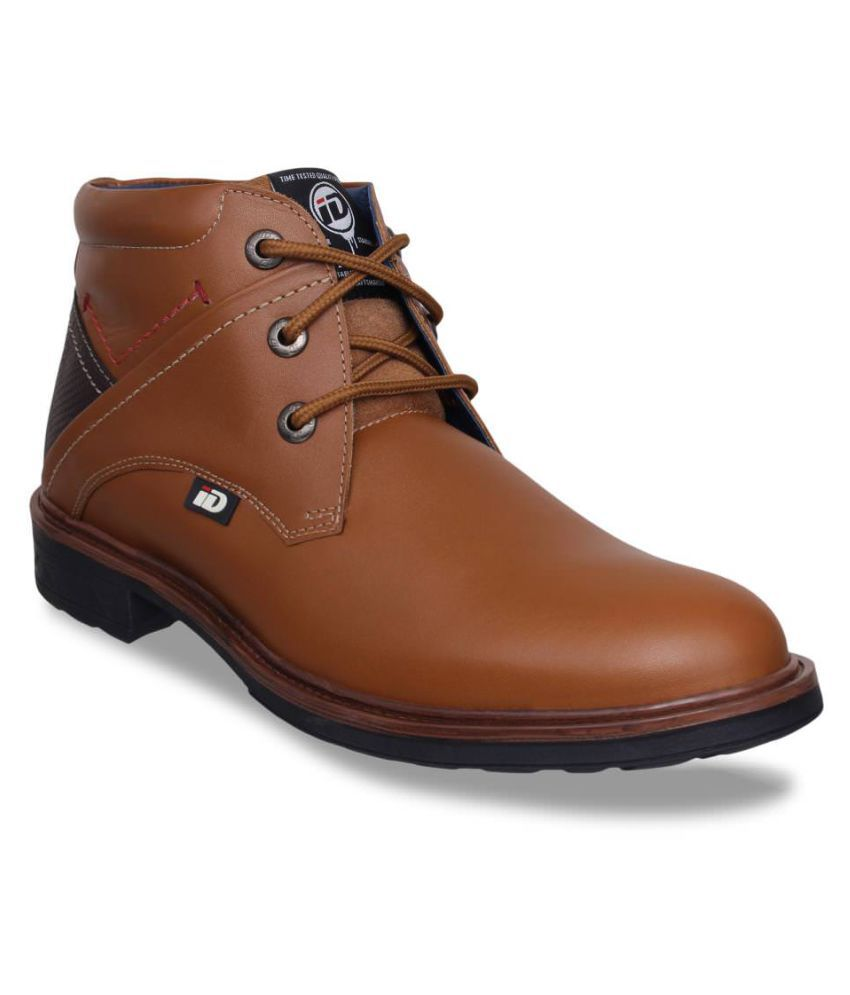 ID Tan Casual Boot