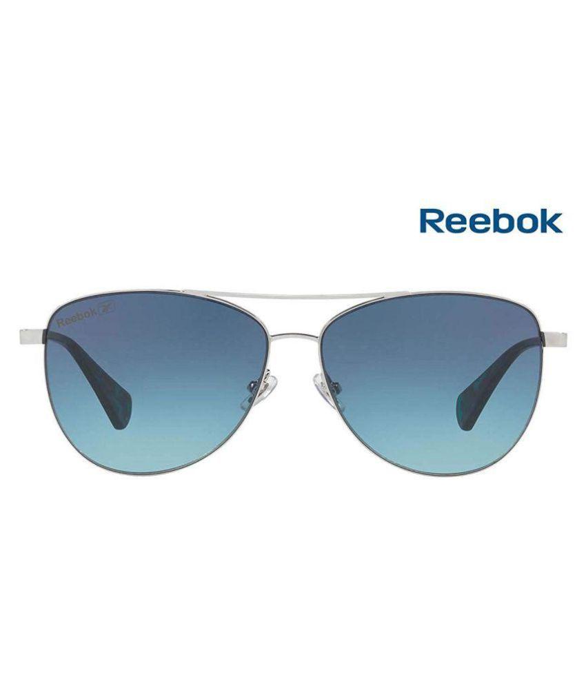 109ec97ea6 Reebok Blue Aviator Sunglasses ( Polarised- Blue Lens  Silver Frame- Size   Medium ) - Buy Reebok Blue Aviator Sunglasses ( Polarised- Blue Lens  ...
