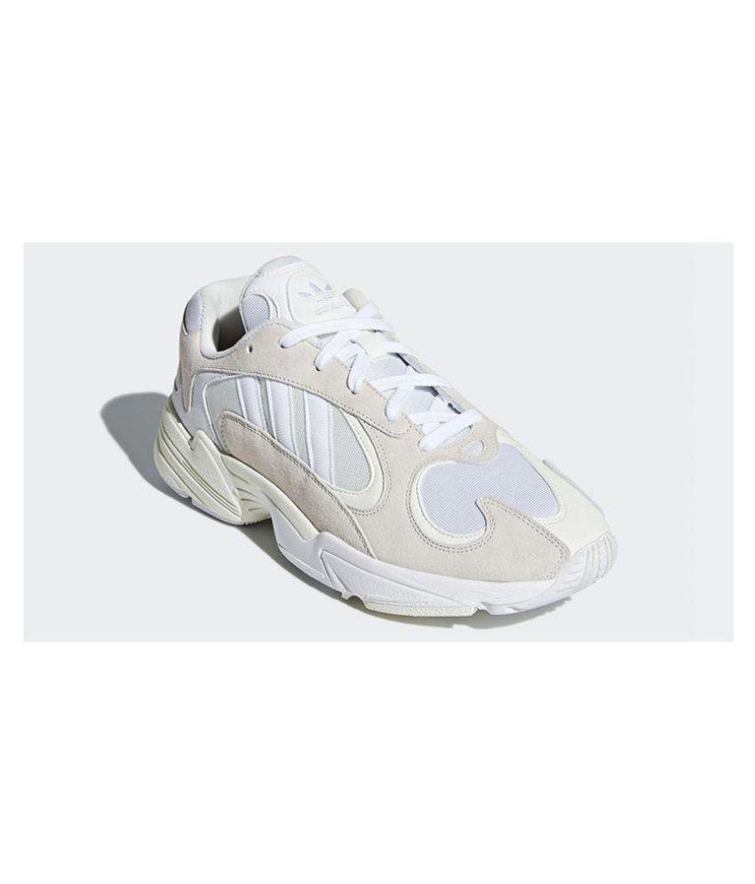 0e4851c4e3a8 Adidas Yung - 1 White Running Shoes - Buy Adidas Yung - 1 White ...