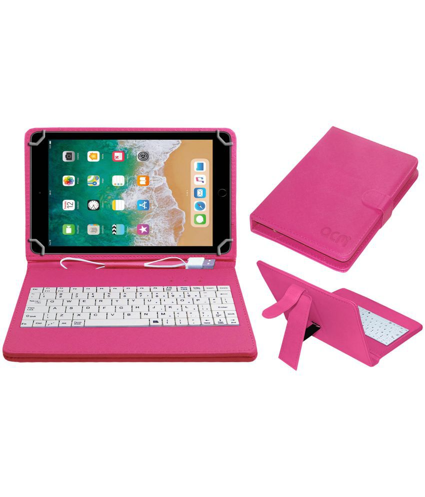 Apple Ipad Pro 10.5 Keyboard Cover By ACM Pink