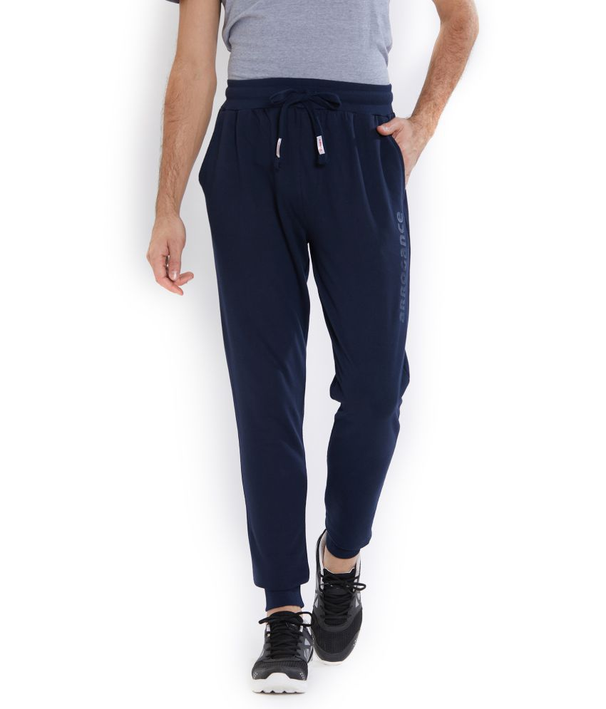 Integriti Blue Cotton Trackpants