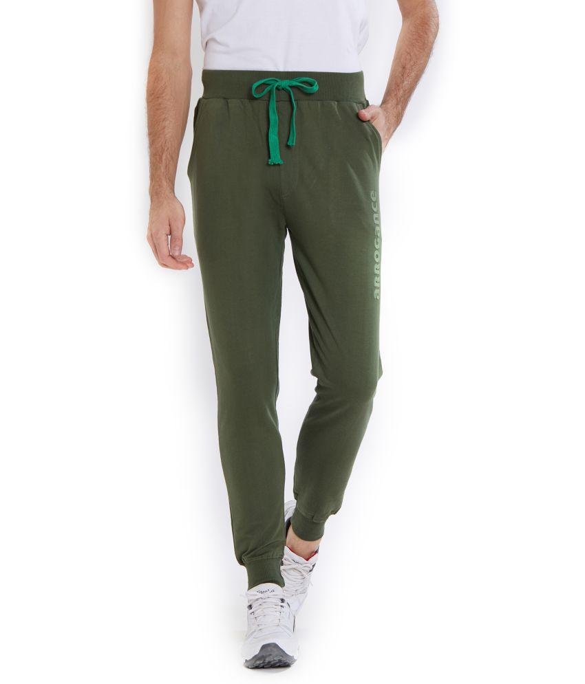 Integriti Green Cotton Trackpants