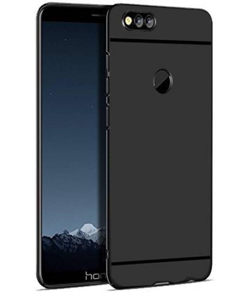 Huawei Honor 7X Plain Cases MAXX3D - Black SHOCK PROOF