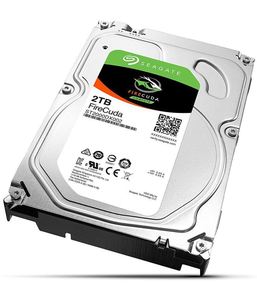 Seagate ST2000DX002 2 TB Internal Hard Drive Internal Hard drive