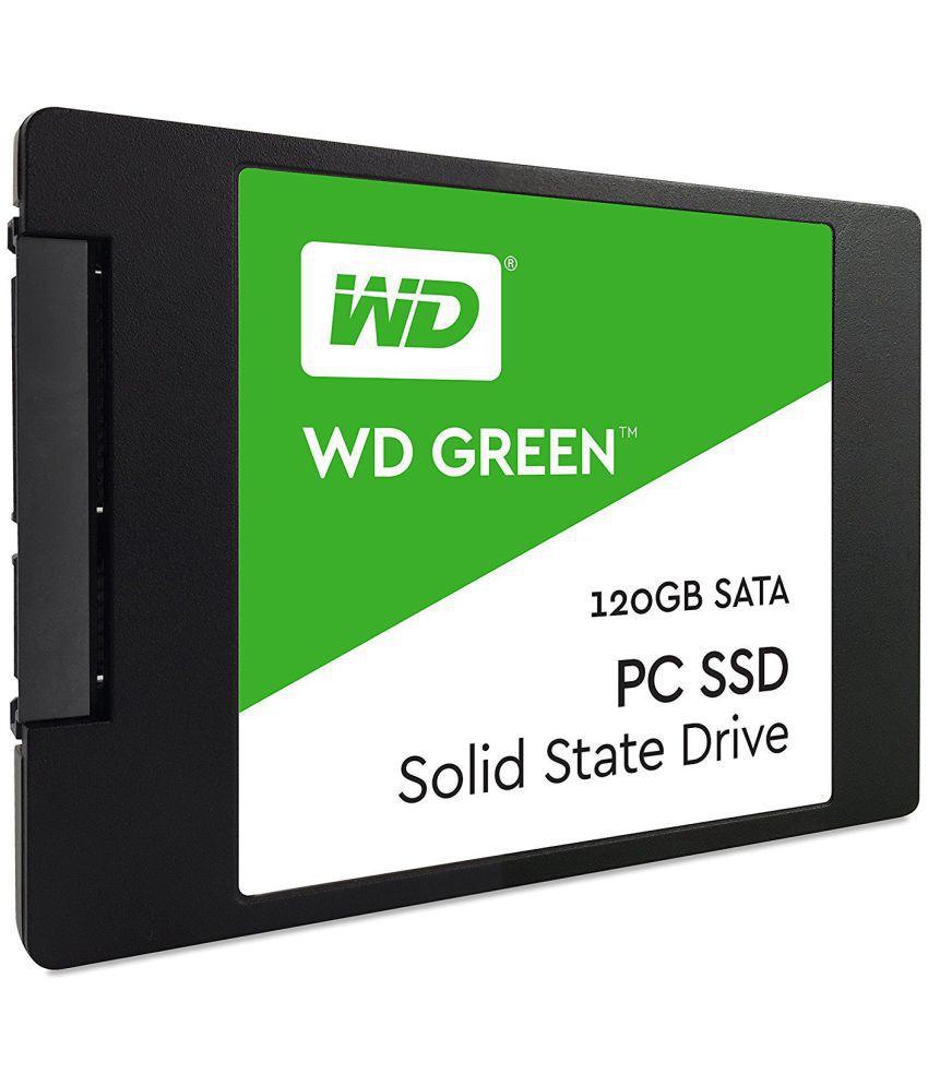 WD WDS120G1G0A 120 GB SSD Internal Hard drive