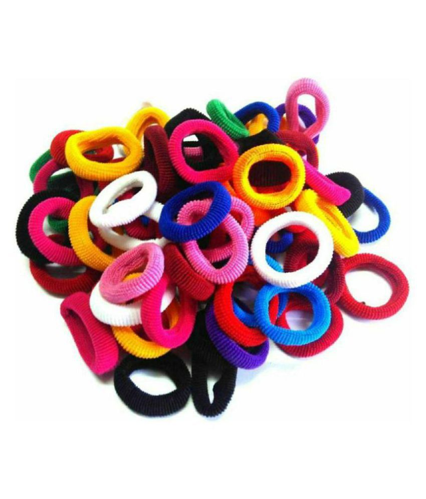 hair rubber band multi pack of 100