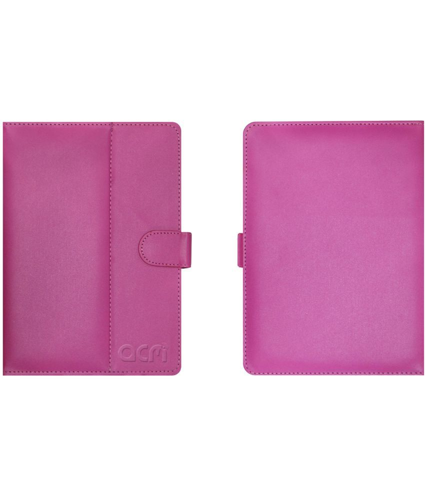 AMAZONFIREHD10 Flip Cover By ACM Pink