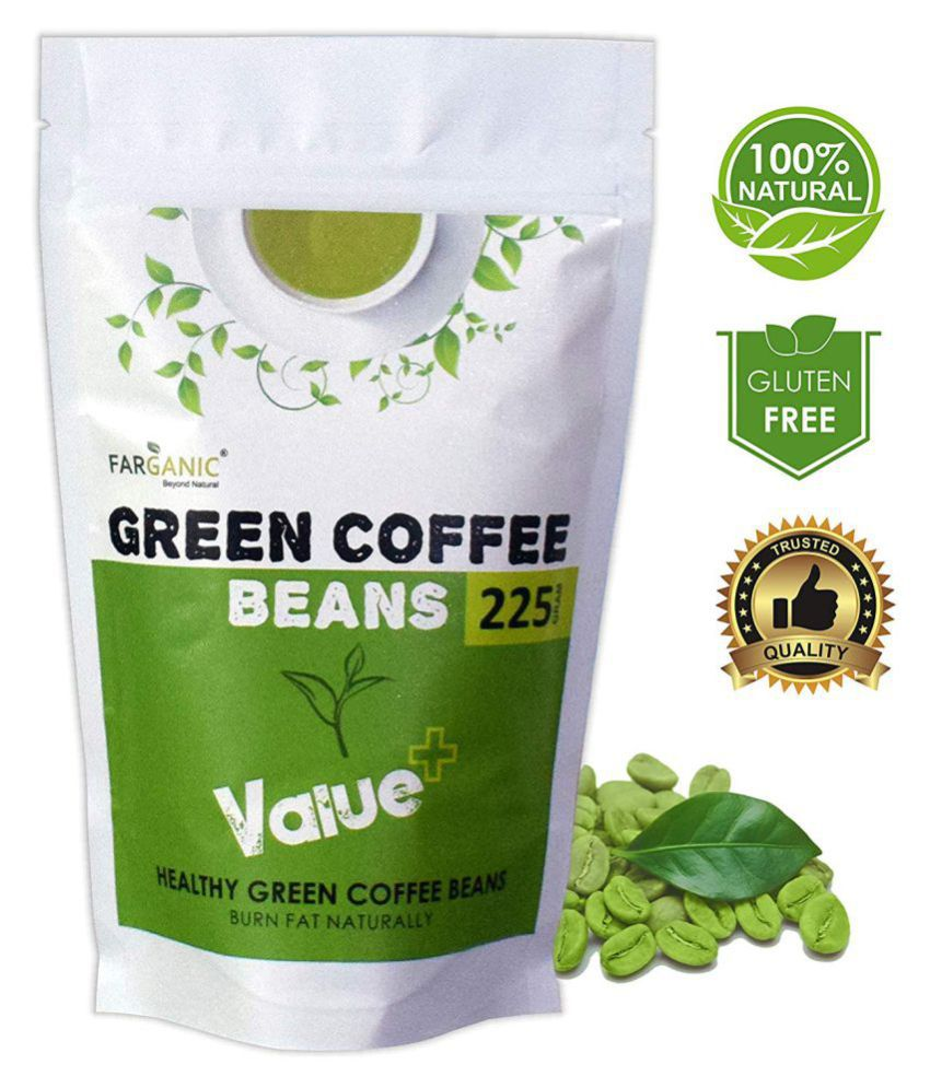 Farganic Value Arabica Green Coffee Beans Fast Weight Loss 225