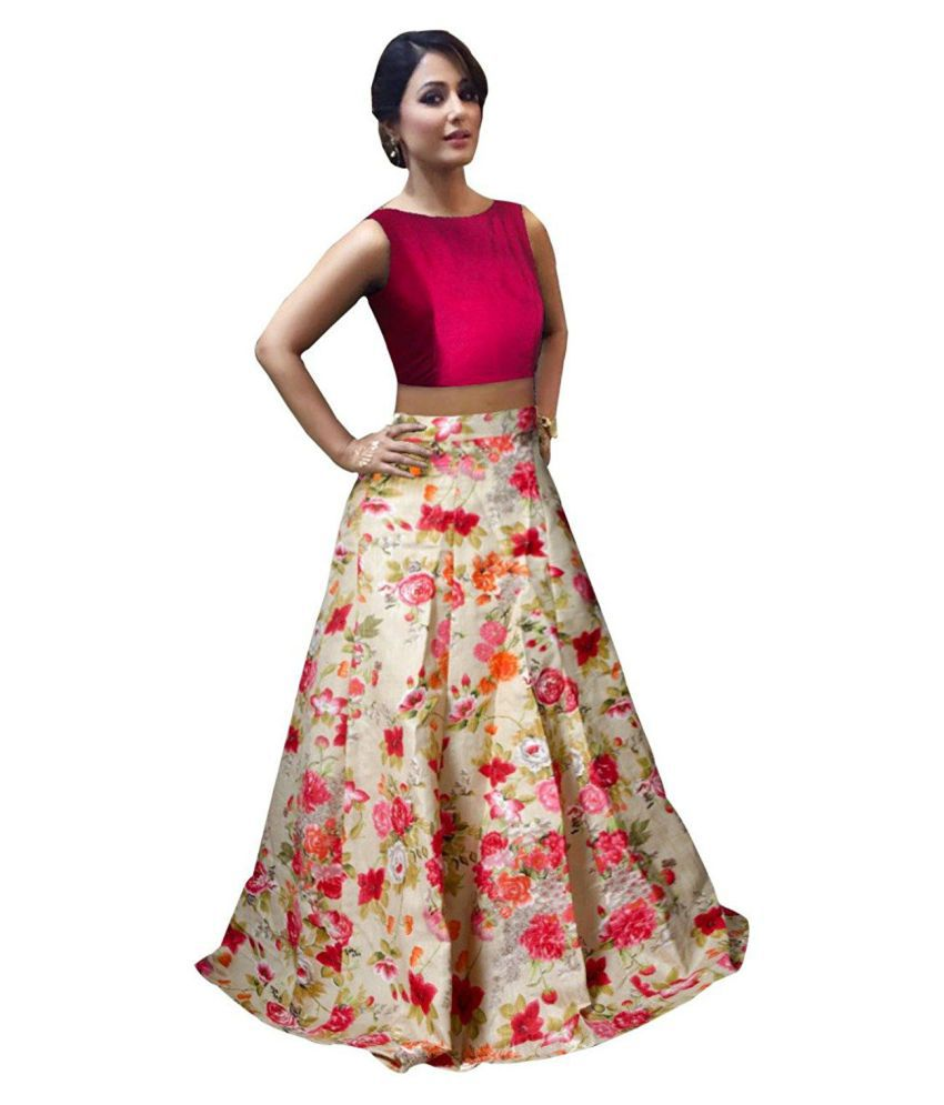 952572947f44b1 SKD Fashion Red Color Latest Bollywood Designer Party Wear, Indo-Western,  Traditional Lehenga Choli (Semi-Stitched Free Size) for Marriage and  Wedding ...
