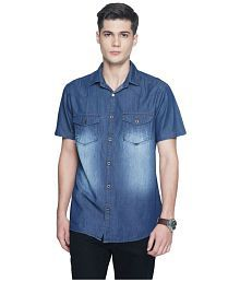 fd18ae32d Denim Shirt  Jeans   Denim Shirts For Men UpTo 77% OFF - Snapdeal.com