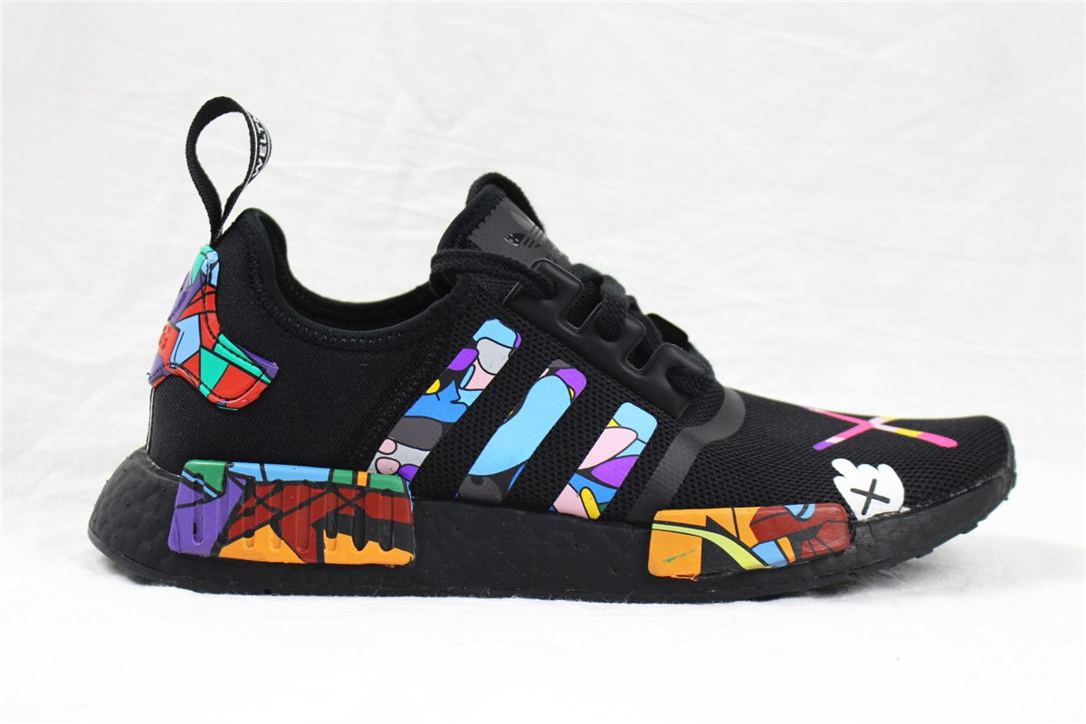 the best attitude 9684a 8b8bb Adidas NMD kaws Running Shoes Multi Color
