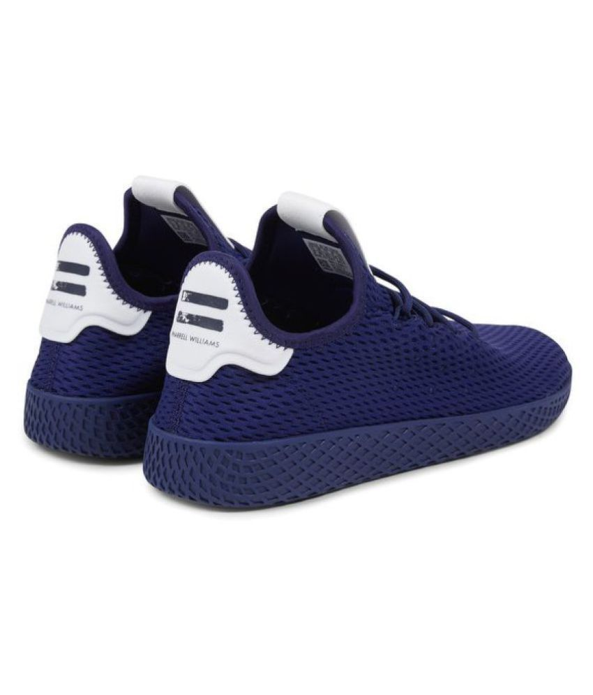 100% authentic 745f9 0905e ... Adidas x PHARRELL WILLIAMS HU TENNIS Sneakers Navy Casual Shoes