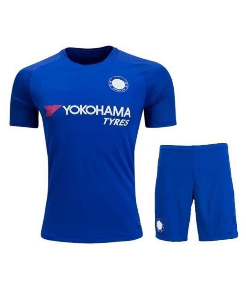 Marex Blue Polyester Jersey Single Pack