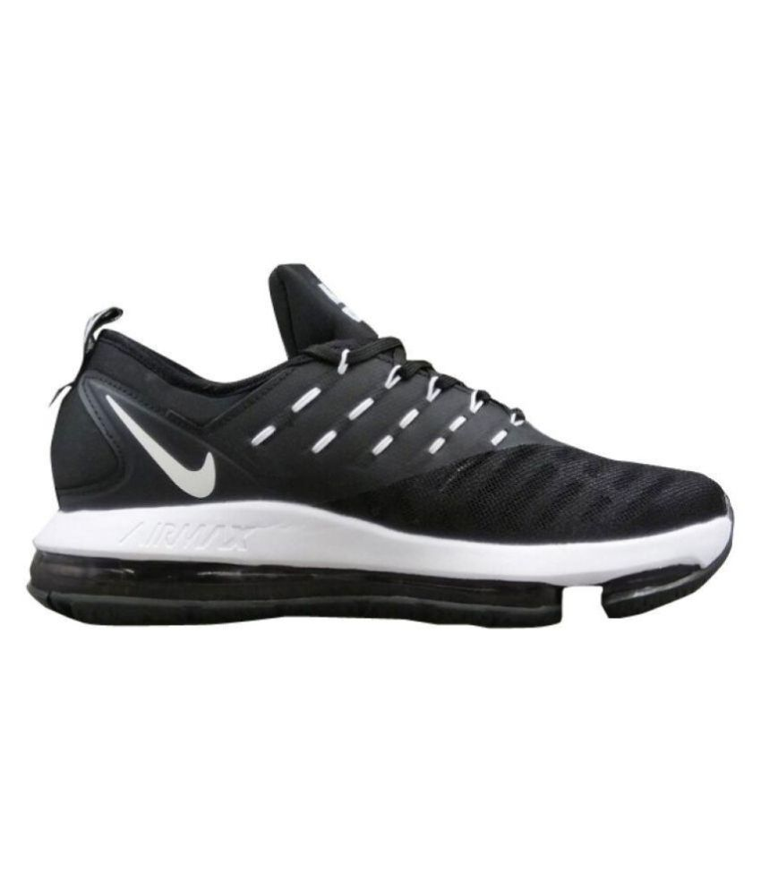 new product ee311 90c59 Nike Airmax Dlx 2018 Black Running Shoes