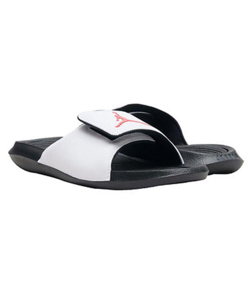f3103022cf12 Nike JORDAN HYDRO 6 White Slide Flip flop Price in India- Buy Nike ...
