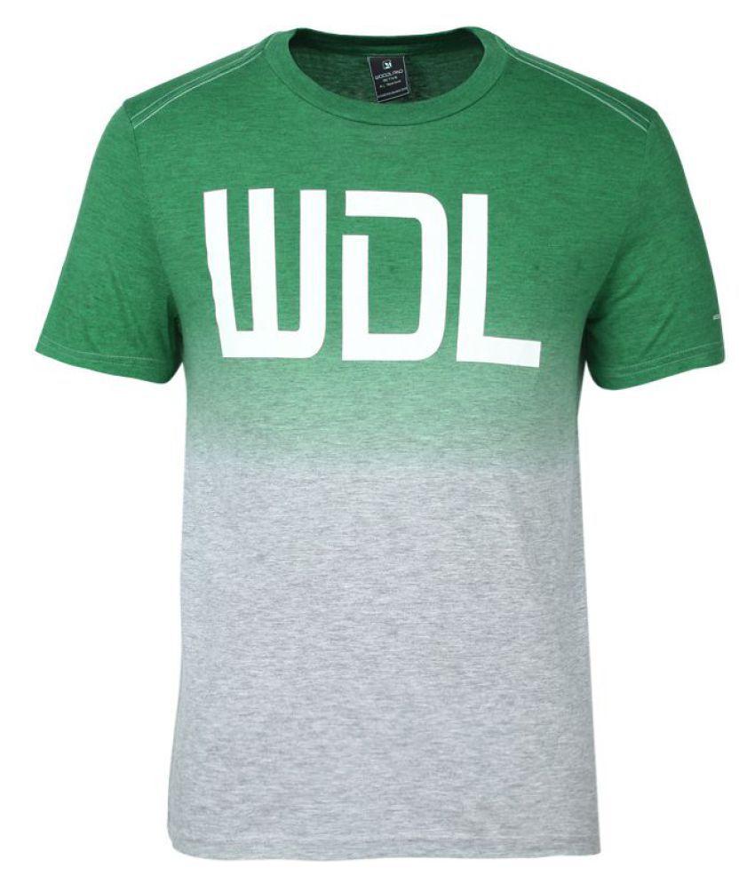 Woodland Green Half Sleeve T-Shirt