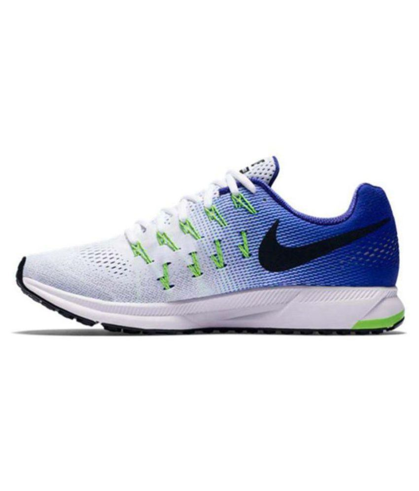 san francisco 043da 56430 Nike Zoom Pegasus 33 Green White Running Shoes - Buy Nike Zoom Pegasus 33  Green White Running Shoes Online at Best Prices in India on Snapdeal