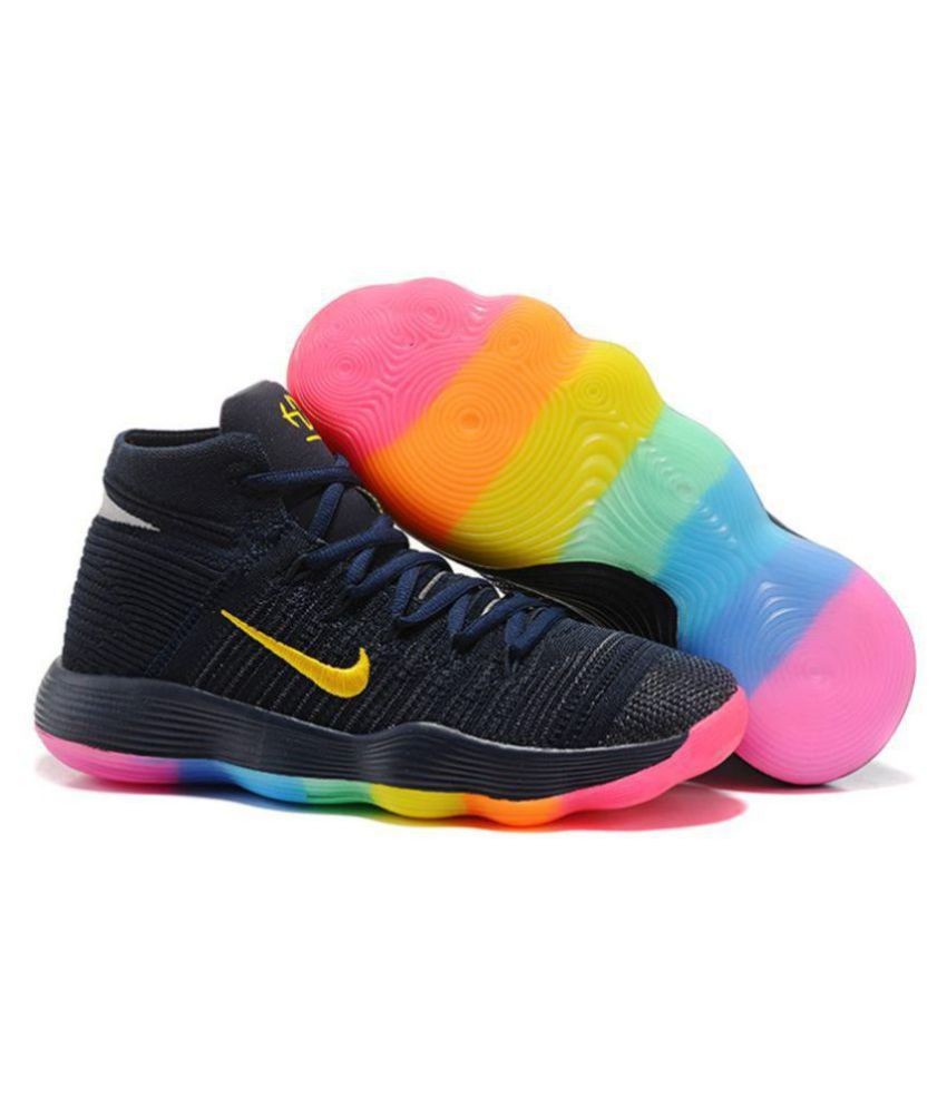 size 40 b7dc3 0a4da Nike HYPERDUNK 2017 FLYKNIT Black Basketball Shoes - Buy Nike HYPERDUNK  2017 FLYKNIT Black Basketball Shoes Online at Best Prices in India on  Snapdeal